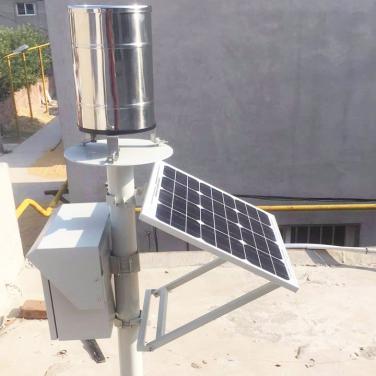 传统机械式雨量监测系统设备